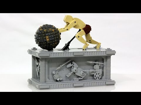 isyphus LEGO Kinetic Sculpture