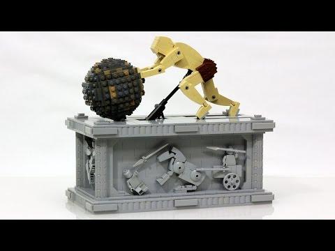 isyphus LEGO Kinetic Sculpture