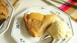 Cómo hacer tarta de manzana francesa