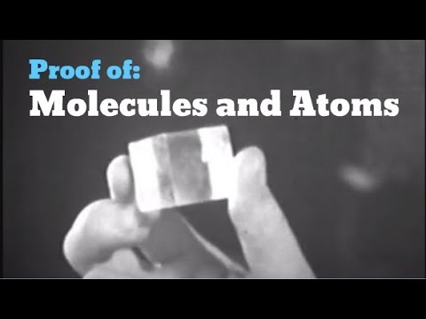 Proof of Molecules and Atoms