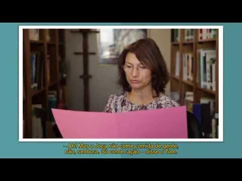 Cléo Busatto lê o conto Dona Cotinha, Tom e o gato Joca