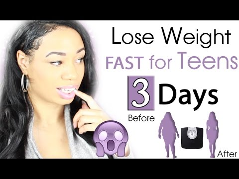 How to Lose Weight Fast for Teenagers in 3 Days