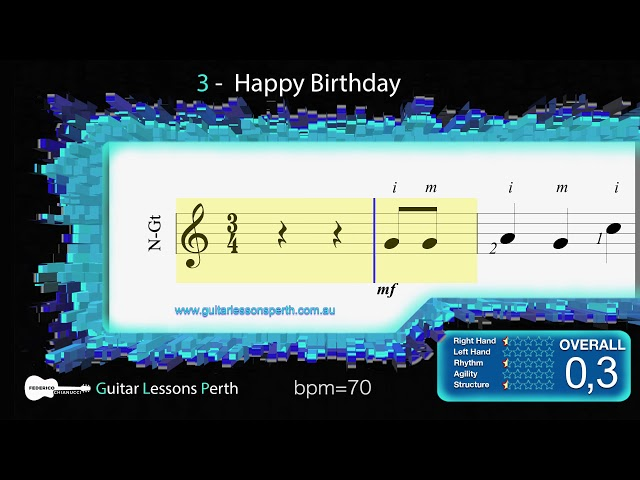 3 – Happy Birthday