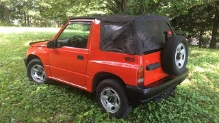 Download Lagu Cleaning up and respraying a Geo Tracker Mp3