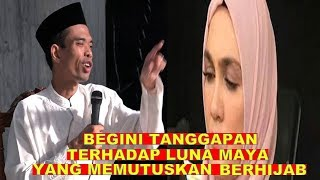 Video Nasehat Ustad Abdul Somad Terhadap Luna Maya MP3, 3GP, MP4, WEBM, AVI, FLV Maret 2019