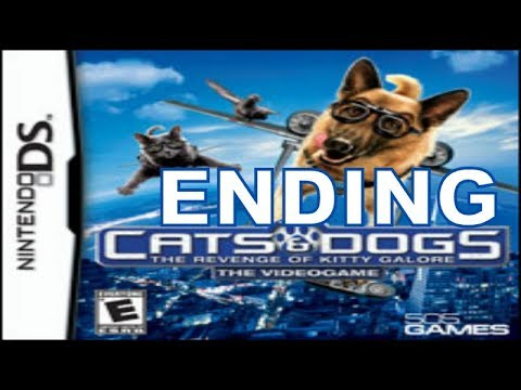 Cats And Dogs Revenge Of Kitty Galore (NDS) Walkthrough Part 4 Ending With Commentary