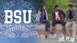 Episode 2: It's Club Fair day at UCLA and the B.S.U. desperately hustles to get more members in order to avoid their club's extinction. Romie and Andre flirtatiously sort out a social media blunder!About BSU:BSU (Black Student Union) is a comedic coming of age web series following a group of college students who are navigating the pitfalls of teenage self discovery, while simultaneously balancing the expectations to organize on behalf of current and future black students.