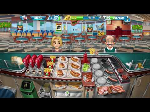 COOKING FEVER FASTEST GAMEPLAY EVER  HD 2017
