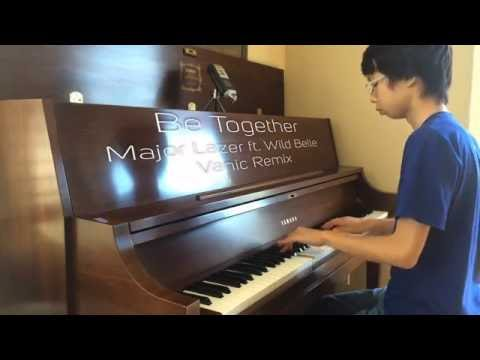 Video Be Together | Major Lazer feat  Wild Belle | Vanic Remix | Piano Cover by Kha download in MP3, 3GP, MP4, WEBM, AVI, FLV January 2017