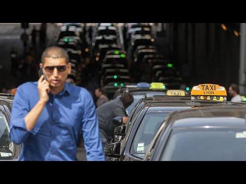 Στα άκρα η κόντρα οδηγών ταξί – Uber στη Λυών