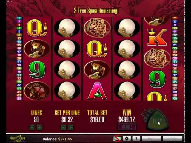50 Dragons Online Slots Pokies; Free Real Play Games