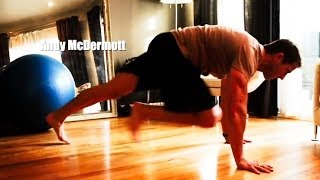 Upper Body Pushing/Legs/Core anywhere! For more: SUBSCRIBE and LIKE Facebook.com/AndyMcDermottFitness www.hylete.com (use code MCD23 for 25% off!) www.inov-8...