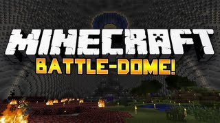 """Minecraft: """"EPIC!"""" Mini-Game Battle-Dome! #6 w/Nooch, Juice, Rusher&Breny!"""