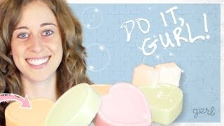 Make Your Own Soap - Do It, Gurl - YouTube