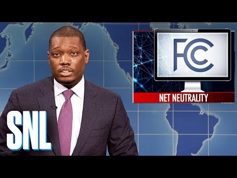 Weekend Update on the FCC Repealing Net Neutrality - SNL