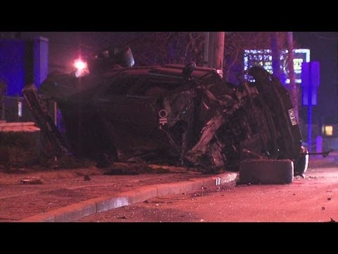 Arm amputated in Akron crash