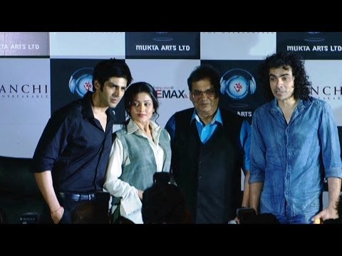 Subhash Ghai,Mishti,Kartik Tiwari At Trailer Launch Of Movie Kaanchi