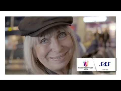 Marie Bergman inför Melodifestivalen med Sanne Salomonsen