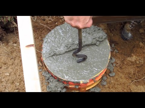 DIY Shed AsktheBuilder How to Install Pier Anchor Bolt