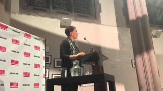 Union Theological Seminary hosted Michelle Alexander