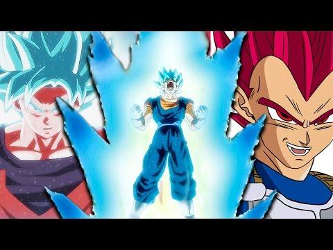 Super Saiyan God Forms Explained (Dragonball Super Anime / Manga)