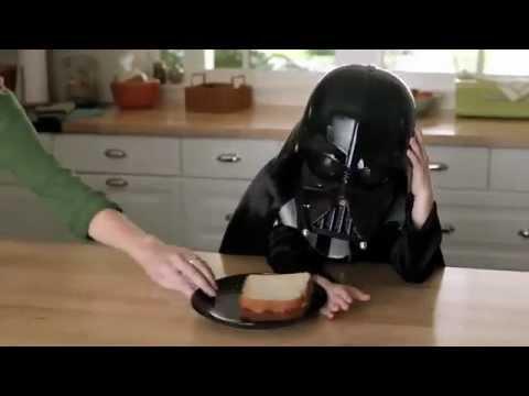 ★THE FORCE★ Alternate, Blooper Scenes VW Little Mini Darth Vader Commercial