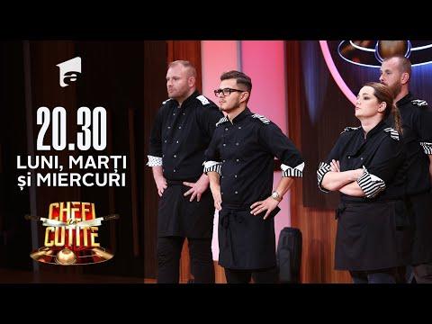 Eliminare șocantă la Chefi la cuțite! Concurentul la care nu se aștepta nimeni să plece acasă