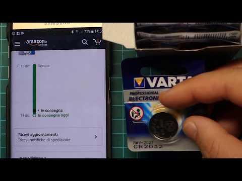 Pile Varta 2032 Varta 10VACR2032  Pile a bottone al litio (3 Volt, pacco da 10)