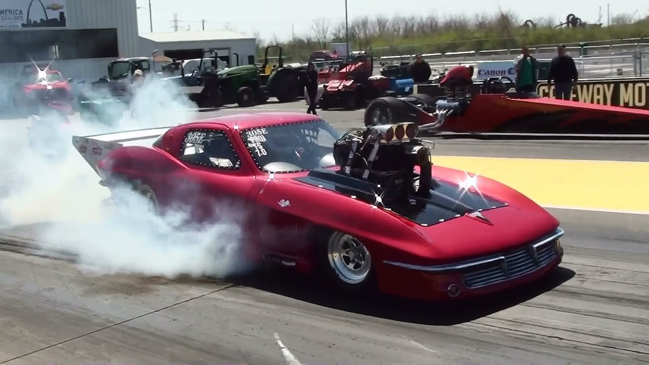 Drag Racing Action NHRA Sportsman Challenge Open – Gateway Motorsports Park