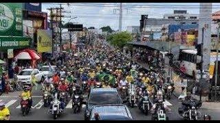 INCRÍVEL! Moradores ficam IMPRESSIONADOS com a força de Jair Bolsonaro em carreata 26/09