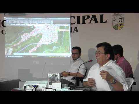 Intervención APP GICA en el Concejo de Cajamarca