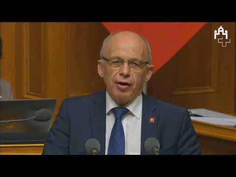 Bundesrat Ueli Maurer: Sparen heisst weniger Mehrausgaben