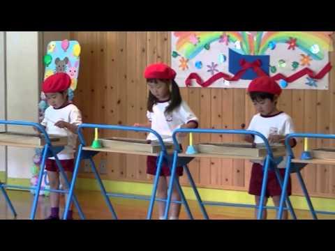 はちまん保育園動画NEWS 春の誕生会にてゆり組の発表