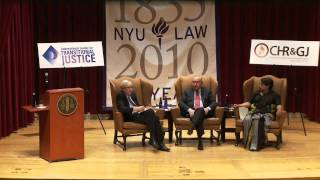 Fifth Annual Emilio Mignone Lecture On Transitional Justice