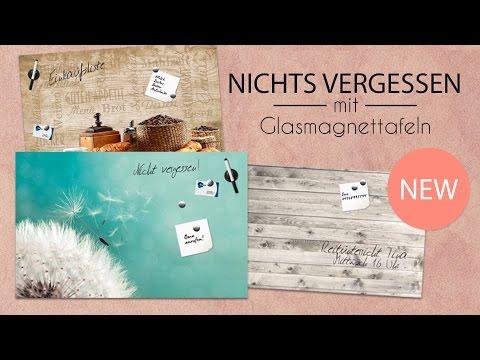 Glas Magnettafel Memoboard Magnetboard !!! NEW IN !!!