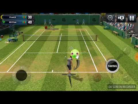 Ultimate Tennis gameplay  (multiplayer)