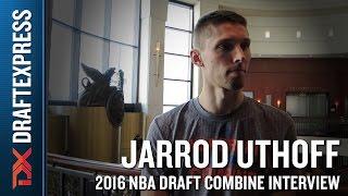 Jarrod Uthoff 2016 NBA Draft Combine Interview by DraftExpress