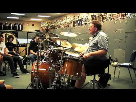 Scott Avery - Clovis High Drum Seminar Solo