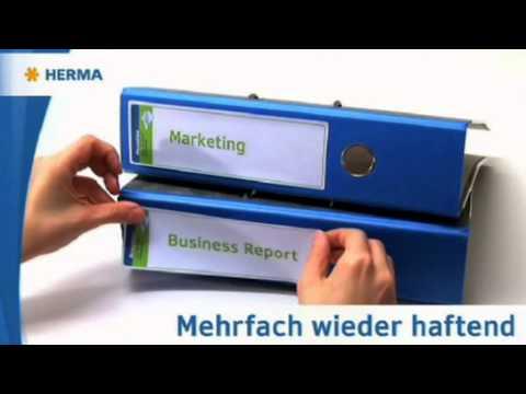 Herma 10150 Movables Ordner-Etiketten 34x192 weiß