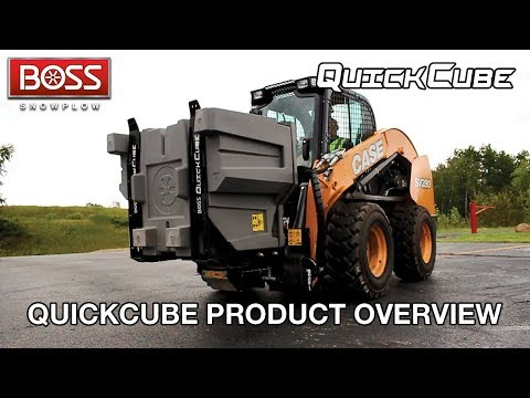 QuickCube Product Overview | BOSS Snowplow |