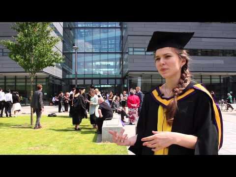 Alina Tsyba   University Of Manchester graduation   INTO Manchester alumnus