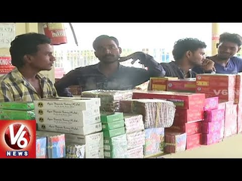 GST Effect : Crackers Rates Double Than Last Year | Hyderabad