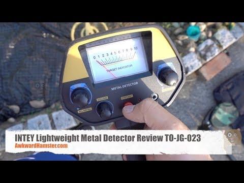 INTEY Lightweight Metal Detector Review TO-JG-023