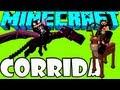MINECRAFT: Corrida Voadora - Dragões e Pegasus