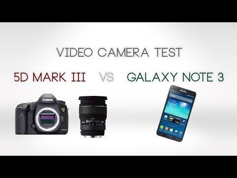 Canon EOS 5D Mark III vastaan puhelin – kumpi voittaa?