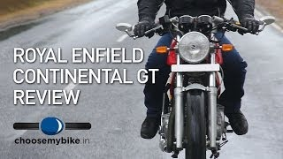 2. Royal Enfield Continental GT : ChooseMyBike.in Road Test Review