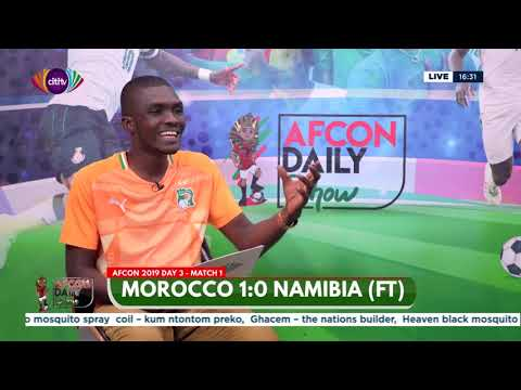 AFCON 2019: Morocco 1:0 Namibia - Full time match analysis