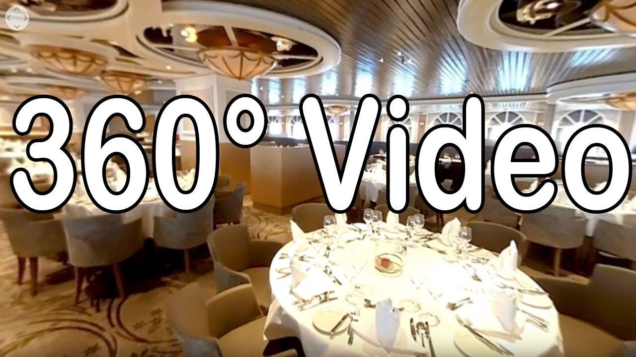 Restaurant Vier Jahreszeiten - MS Artania