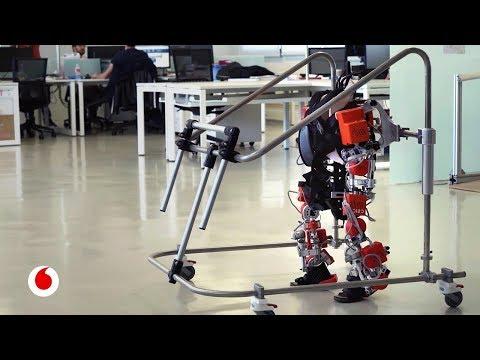 Crean el primer exoesqueleto pediátrico del mundo