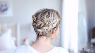 Easy DIY Crown Braid | Cute Girls Hairstyles by Cute Girls Hairstyles